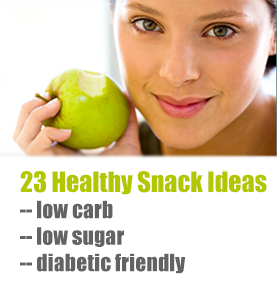Find the top 23 healthy low carb snack ideas!