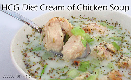 Cream of Chicken Soup that is safe for the HCG diet.... score!