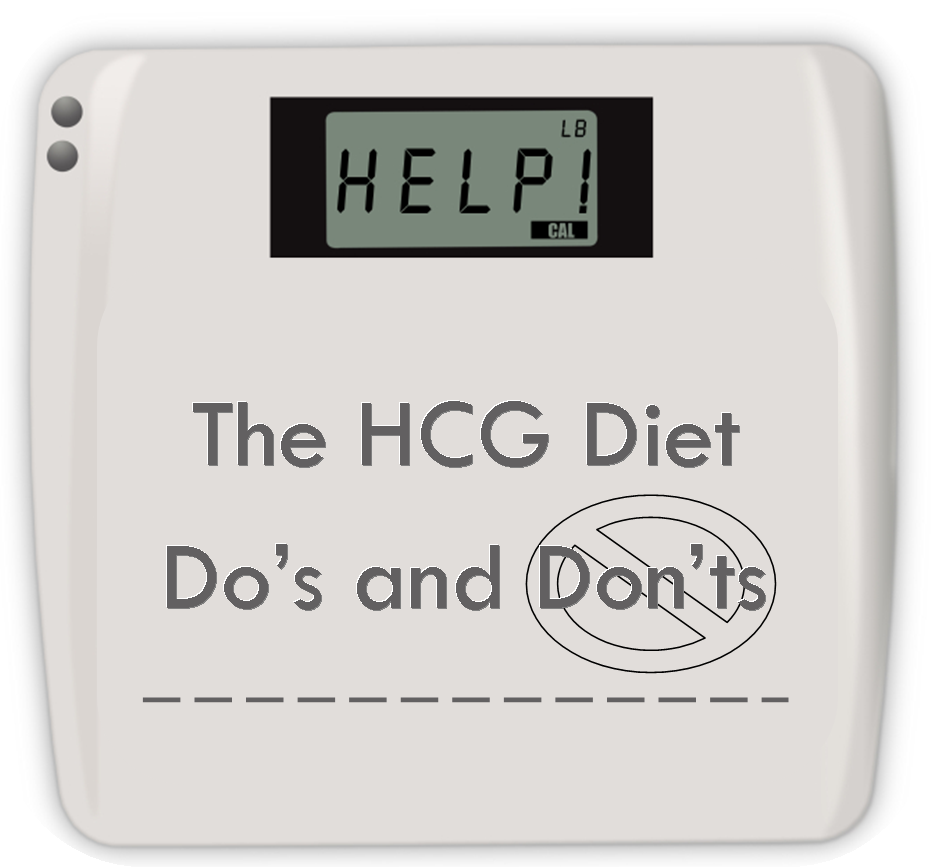 Learn the Do's and Don'ts of the HCG Diet. Things like... DO check your stevia for words ending in -ose, -tol, or -dextrin. DON'T have the same vegetable 2 HCG meals in a row. Read MORE!