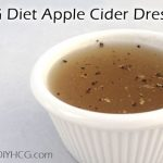 HCG Diet Recipe Phase 2 - DIYHCG Apple Cider Dressing