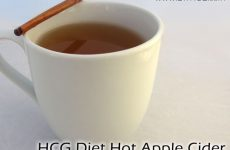 HCG Recipe Hot Apple Cider