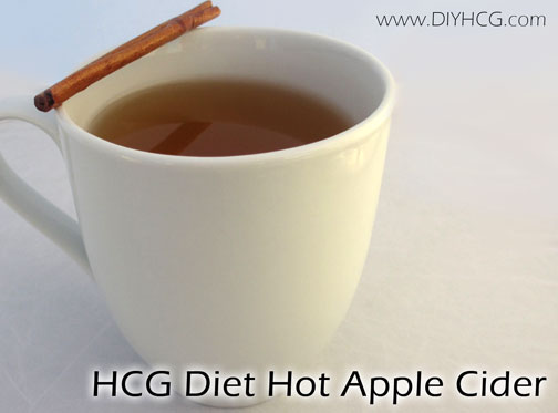 MADE WITH STEVIA! Apple Cider that is safe for Phase 2 of the HCG diet. Perfection!