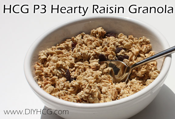 When introducing whole grains back into your diet on phase 3 of HCG, start slow. Use recipes like this!