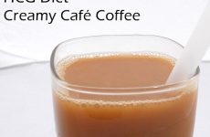Healthy DIY Diet Coffee Drink