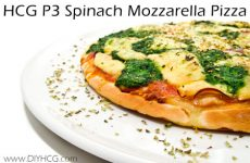 HCG Recipe Weight Loss Pizza Recipe Phase 3