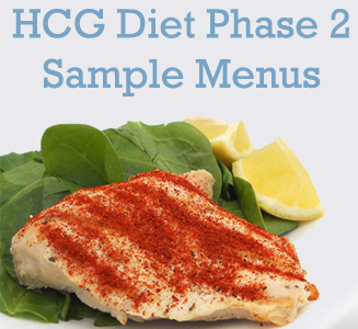 Budget HCG Diet Phase 2 Sample Menu - Do-It-Yourself HCG - Do-It ...
