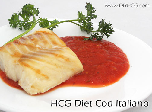 Yummy HCG recipe for flaky cod... super simple!