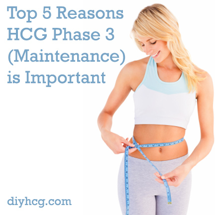 Read this awesome article that explains why the HCG maintenance phase is soooo important for long term success!
