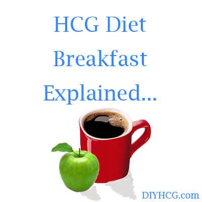 HCG Phase 2 Breakfast Food List