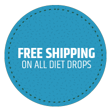Free Shipping when you buy Diet Drops CTA