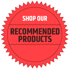 Shop Our Recommended Products CTA