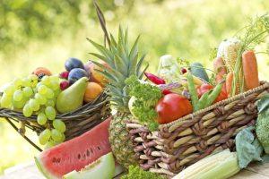 Baskets of Fruit & Vegatables